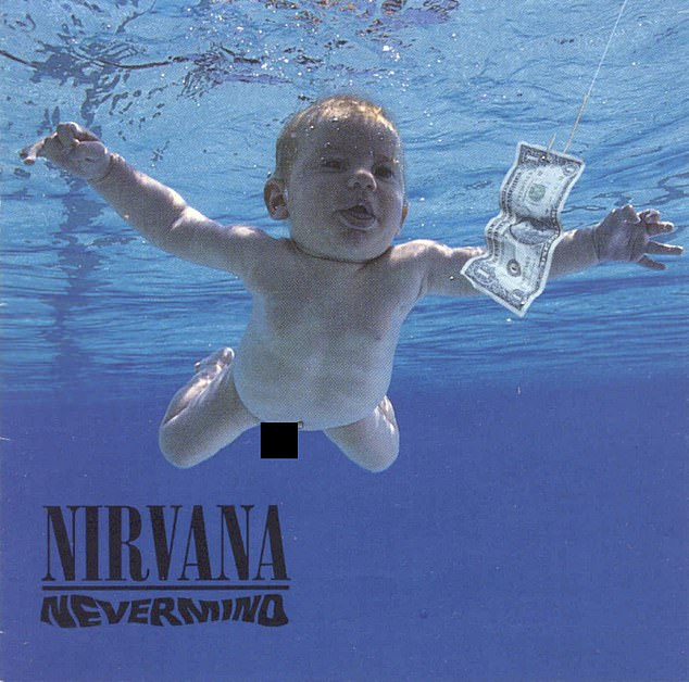 The latest:Nirvana and estate of Kurt Cobain are being sued by Spencer Elden, a man, now 30, who was the baby seen on the group's Nevermind album cover in 1991 (pictured)