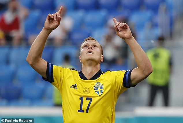 Sweden winger Viktor Claesson is eyeing a move to a club in England this summer