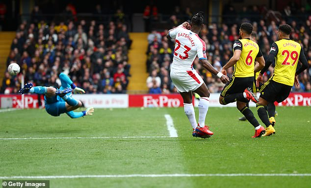 Palace have not scored in a cup match since Michy Batshuayi netted in an FA Cup quarter-final defeat by Watford