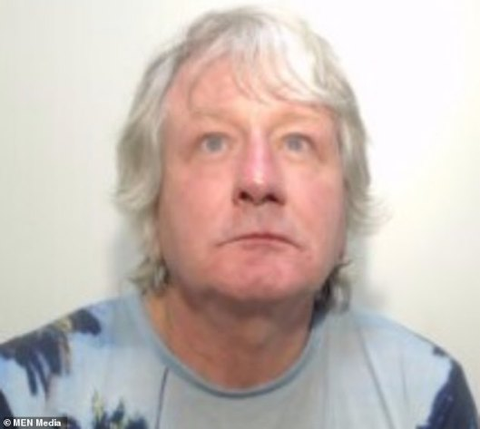 David Barnes (pictured), 59, was 'humiliated' when he arrived at Piccadilly Gardens, having expected to be met by the 'girl' he had groomed online