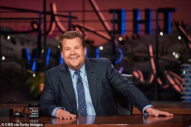 TV star: Fans compared the singer to established talk show host James