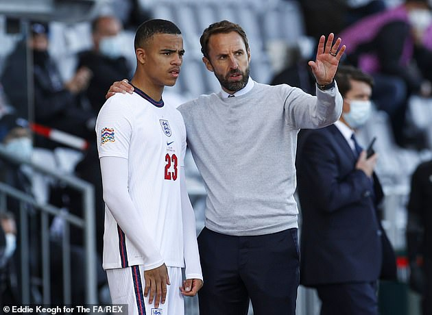 Greenwood could also return to Southgate's squad for the upcoming World Cup qualifiers