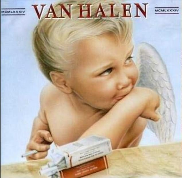 Many people think that the famous painting of a smoking angel-baby on the controversial Van Halen album 1984 was simply just a drawing - but it's actually based on Carter Helm