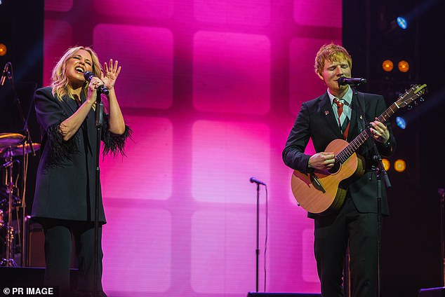 Sing it loud!The music legend's state funeral was held at the end of March at Melbourne's Rod Laver Arena. It featured performances from Kylie Minogue, Jimmy Barnes and Ed Sheeran