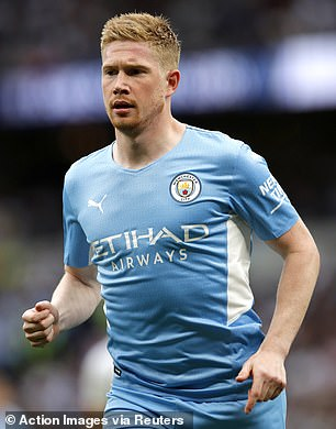 Manchester City's Kevin De Bruyne was on the final shortlist for the award