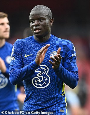 Jorginho's Chelsea team-mate N'Golo Kante was the other player up for the prize