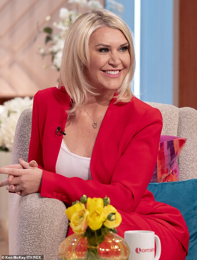 New appearance:S Club 7 singer Jo O'Meara left many fans stunned on Thursday when she unveiled her new look during an appearance on ITV's Lorraine