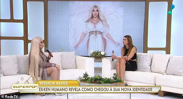 Revelation: She told Brazilian TV show Superpop this week that she has had sex since the change