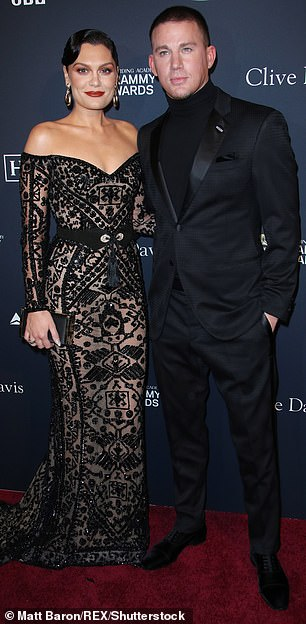 His ex-girlfriend:Channing split with singer Jessie J in October of last year after being on and off for many years. Seen in January 2020
