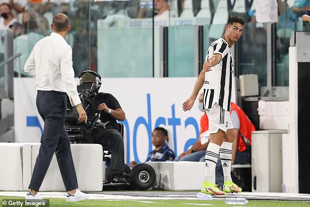 Cristiano Ronaldo has cleared out his Juventus locker in a bid to leave the club, say reports