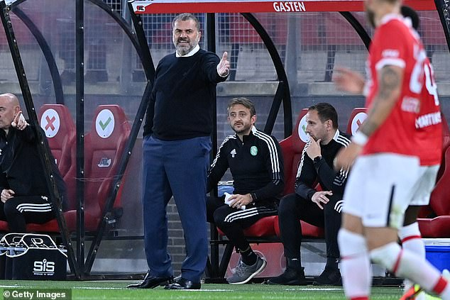 Celtic boss Ange Postecoglou praised his side for seeing out a difficult tie with AZ Alkmaar