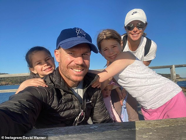 Family: David and Candice, who married in 2015, are parents to daughters Ivy, six, Indi, five, and Isla, one