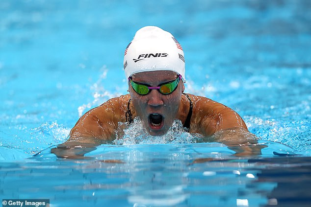 Mallory Weggemann scored herself another world record in her glittering Paralympic career