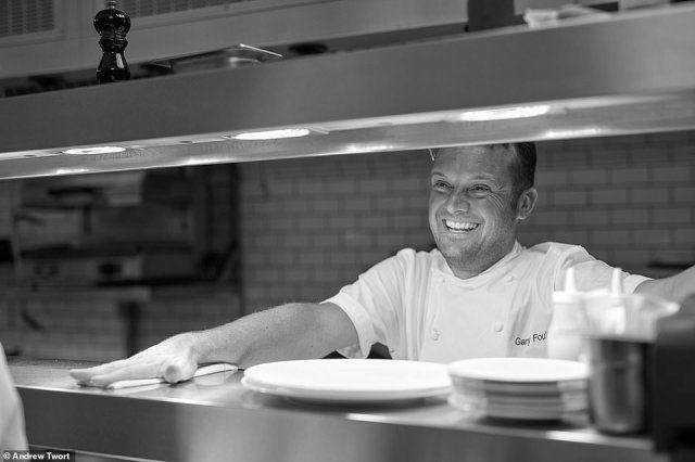 Angler'sExecutive Chef Gary Foulkes, who oversees a sophisticated operation with 'faultless service'