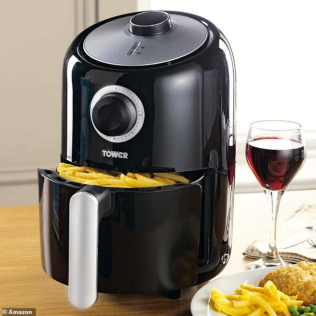 The Tower T17026 Air Fryer, now on sale for £36 (usually £44.99), is one of the cheapest air fryers up for grabs - so add it to your cart while you can
