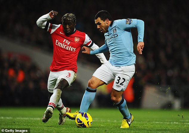 The now-retired Sagna will be rooting for Arsenal when his old sides lock horns on Saturday
