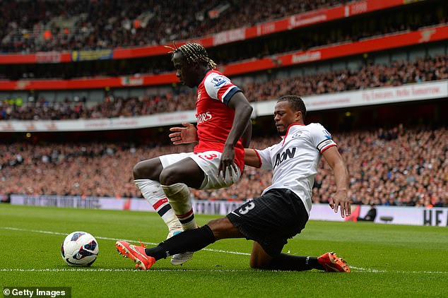 Sagna says Arsenal missed the character of compatriot and long-time rival player Patrice Evra