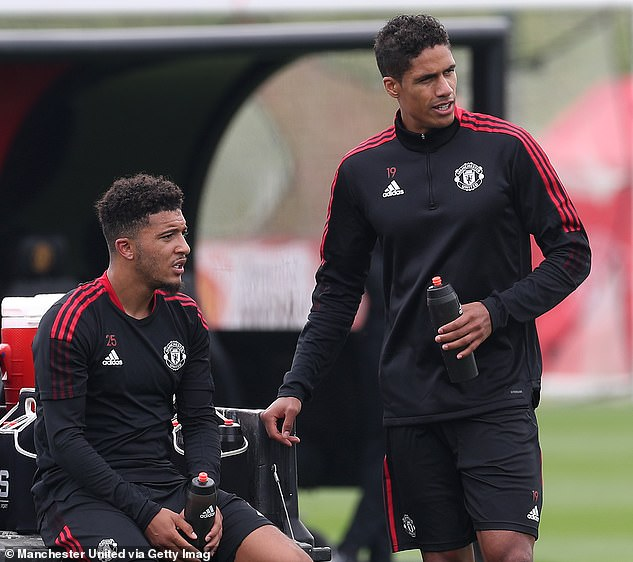 United have so far swooped for Jadon Sancho (left) and Raphael Varane in the summer window