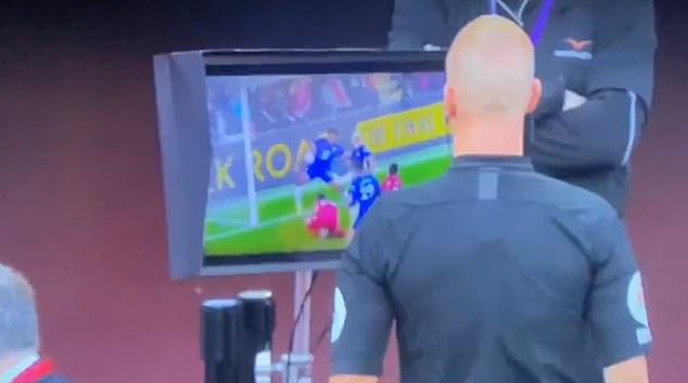 Anthony Taylor took just seconds before decided to punish Chelsea and send Reece James off