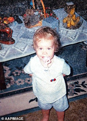 Laura Folbigg, who died aged 19 months in 1999