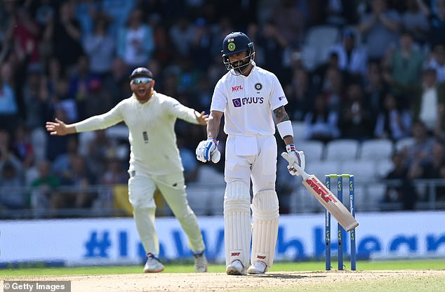 Virat Kohli had no answer to England's swing bowling during the fourth Test at Headingley