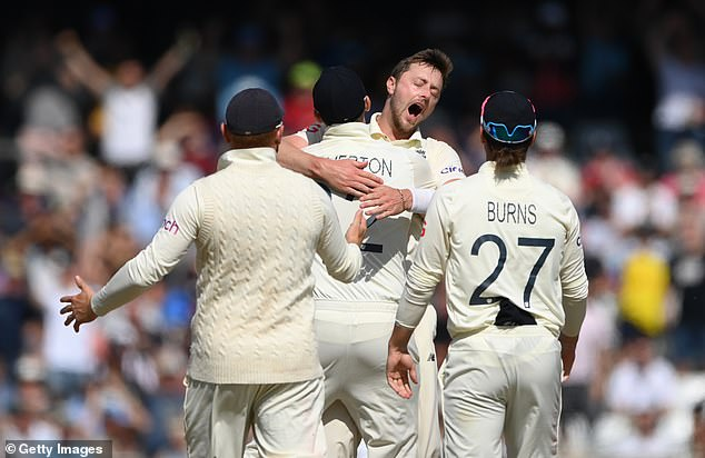 England swung the ball round corners but India's seam bowlers did not swing the ball at all