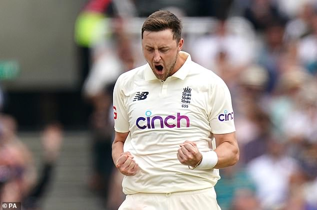 Robinson starred in England's third Test win vs India at Headingley with five wickets
