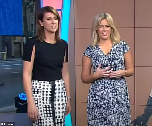 Caught off-guard: Sam was responding to an interview Natalie had done with The Australian Women's Weekly in which she claimed the pair weren't friends outside the workplace.
