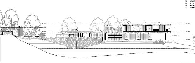 Plans for a new four level home on Chris Hemsworth's property have been lodged for final approval