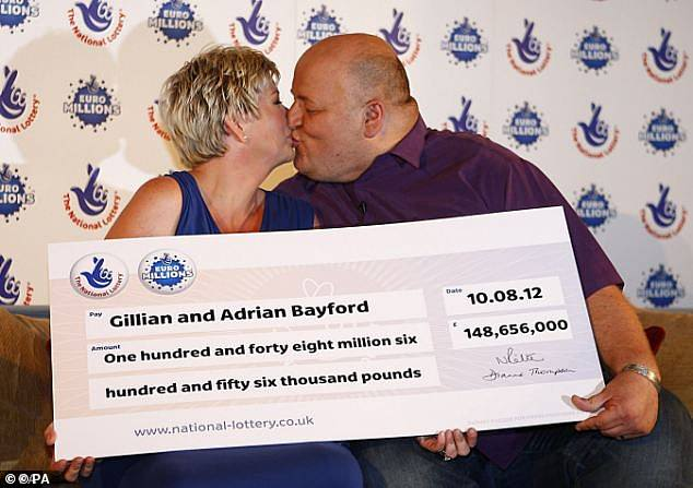 At the time of their win Gillian and Adrian were Britain's biggest ever lottery winners
