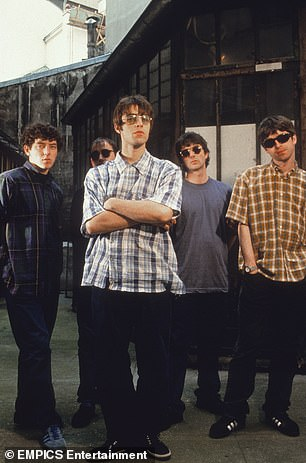 Founding Oasis member Tony McCarroll with the band