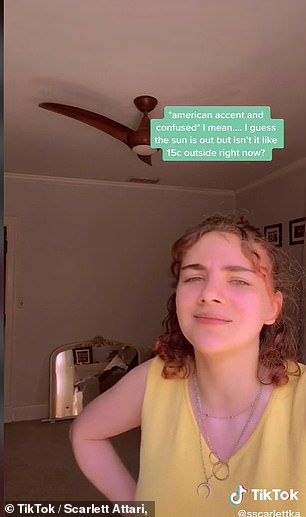 Scarlett Attari, who is originally from Louisville, Kentucky and now studies History at Edinburgh University has become a viral sensation sharing the differences across the pond, including how people react to the weather, the way electricity works and university living arrangements