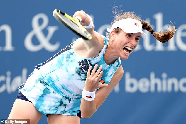 The British No 1 was due to face Frenchwoman Kristina Mladenovic in the opening round