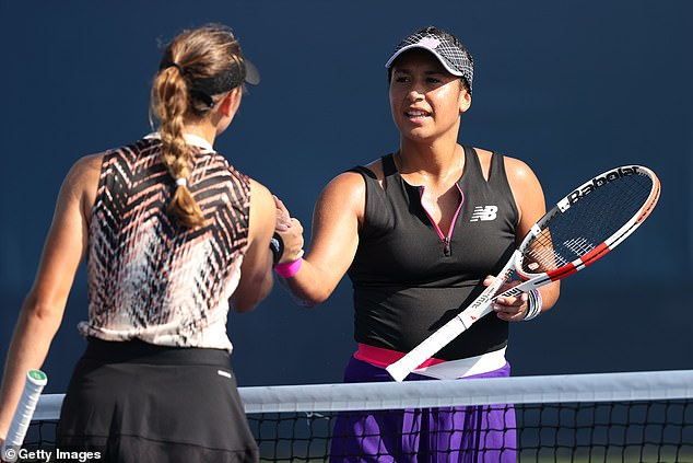 Heather Watson lost her first round match on a day where three British women exited