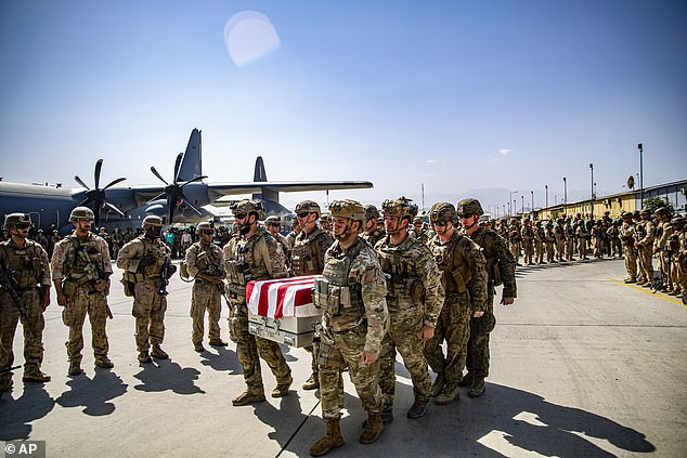 13 US troops were killed in a suicide bombing last week outside Kabul airport as the US tried to complete its withdrawal