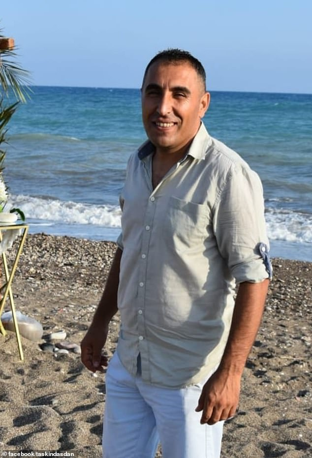 Charles struck up a friendship with bellboy Taskin after staying at the Korur De Lux Hotel in the Kusadasi district of Aydin every year (pictured, Taskin)