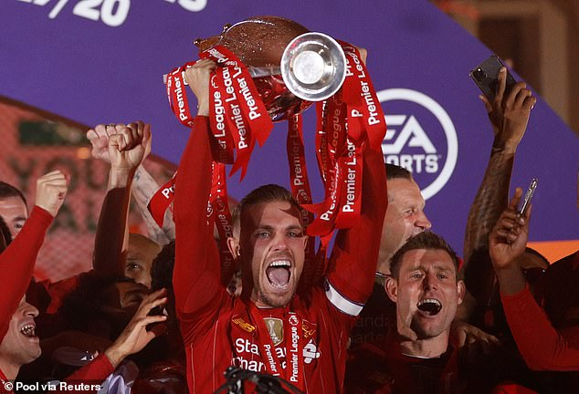 Henderson lifted the Premier League title with Liverpool back in 2020 after a stellar season