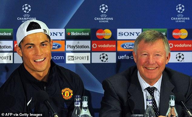 Ronaldo singled out Sir Alex Ferguson for praise on Instagram upon completing his return