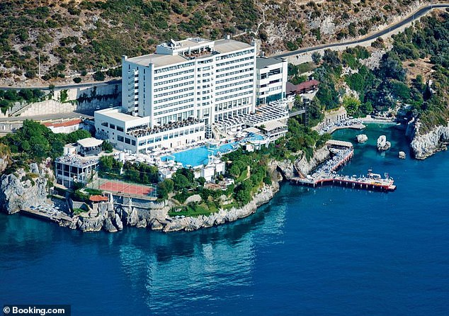 A room at the hotel in Kusadasi where Charles always stayed has been named after the late guest
