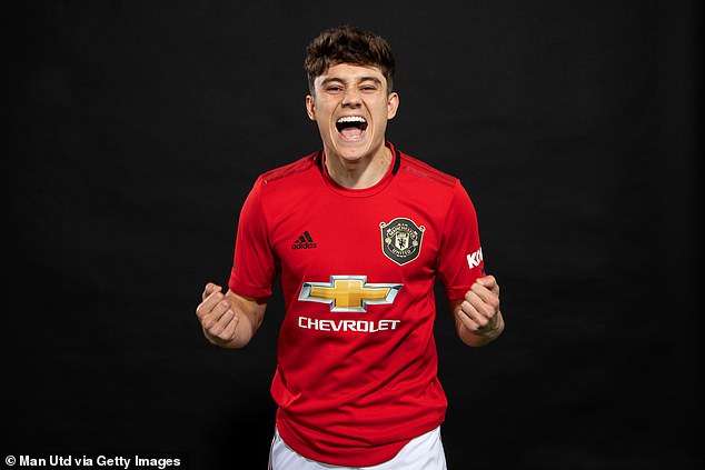 The 24-year-old joined the club for £15million in 2019 and made a flying start to life at United