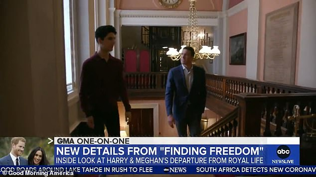 During the TV interview, Scobie suggested the couple could go on to reveal more details about their relationship with members of the royal family like Prince Charles and William