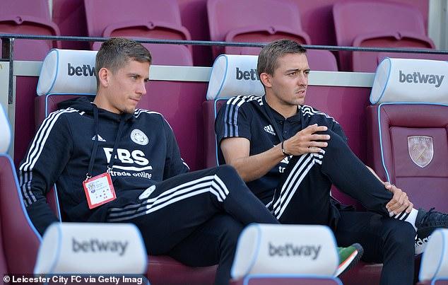 Dennis Praet (left) has left Leicester on a season-long loan to join Italian side Torino