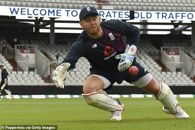 Jonny Bairstow will keep wicket for England in the fourth Test against India at the Oval