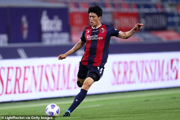 Arsenal also landed a deadline day deal for Bologna and Japan defenderTakehiro Tomiyasu