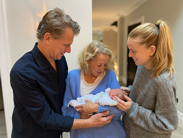 Former tennis star and Wimbledon commentator Andrew Castle is celebrating a new title at 57 — that of grandfather