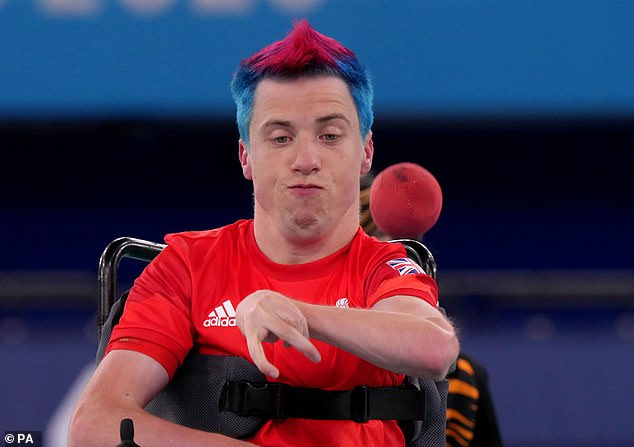 David Smith is a double Paralympic champion after the Brit won Wednesday's boccia final