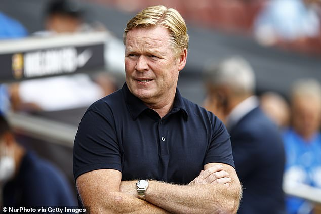 Ronald Koeman is overseeing an incredibly tricky period as Barca lose their stars and identity