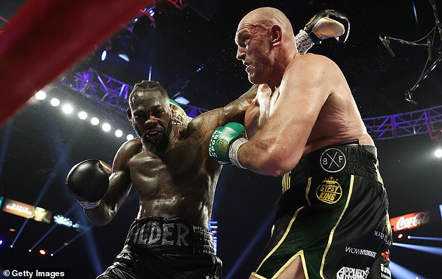 Fury demolished the Bronze Bomber to take his WBC heavyweight crown in February last year