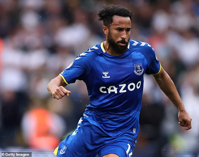 Andros Townsend worked with Rafa Benitez before and now features again for the Spaniard