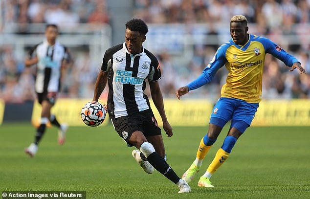 Joe Willock became an official Newcastle player after impressing during his loan stint